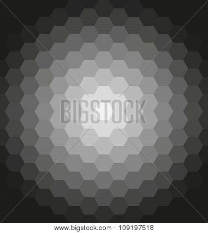 Geometric Pattern With Flow Effect