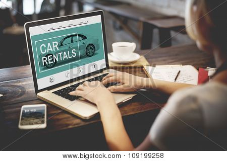 Car Rentals Rental Enterprise Roadtrip Transportation Concept