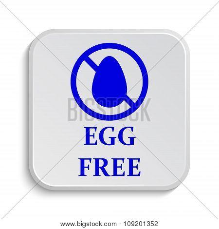 Egg Free Icon