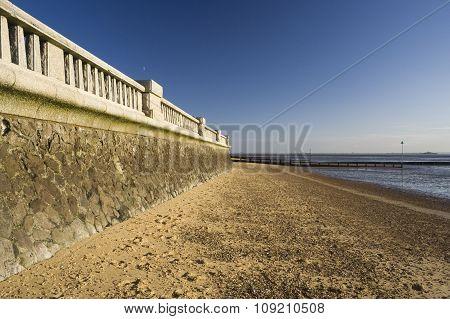 Southend Beach, Southend-on-sea, Essex, England