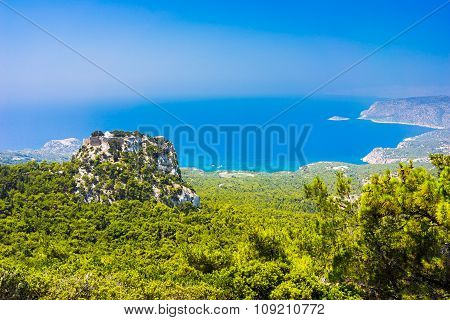 Monolithos Rhodes Greece Europe