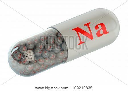 Vitamin Capsule Sodium Na