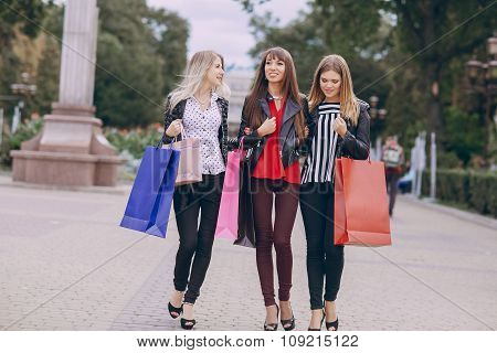 fashion shopping street