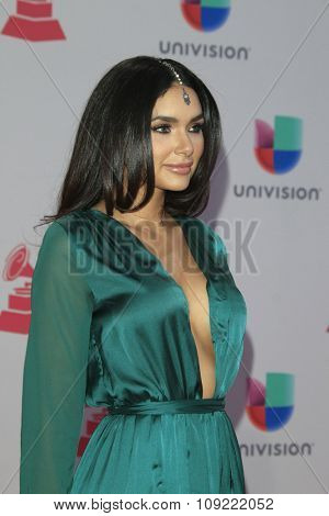 LAS VEGAS - NOV 19:  Jamillette Gaxiola at the 16th Latin GRAMMY Awards at the MGM Grand Garden Arena on November 19, 2015 in Las Vegas, NV