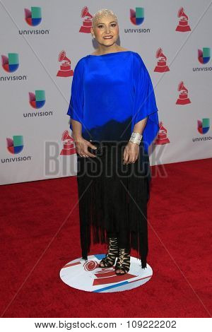 LAS VEGAS - NOV 19:  Berta Rojas at the 16th Latin GRAMMY Awards at the MGM Grand Garden Arena on November 19, 2015 in Las Vegas, NV