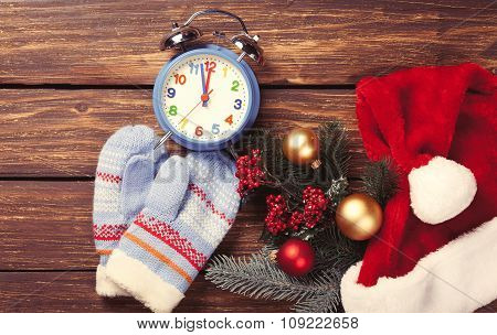 Christmas Gifts And Alarm Clock