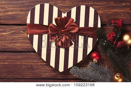 Heart Shape Box And Gifts