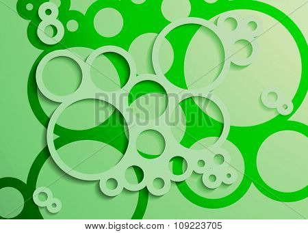 Set Of Bright Abstract Circles Frames Design Elements, Cosmetics, Soap, Shampoo, Perfume, Medical, L