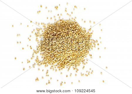 Quinoa Seeds From Above