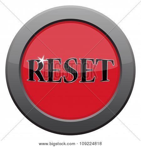 Reset Dark Metal Icon