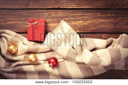 Christmas Gifts And Scarf