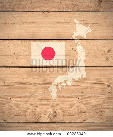 Map Of Japan - Elements of this image furnished by NASA