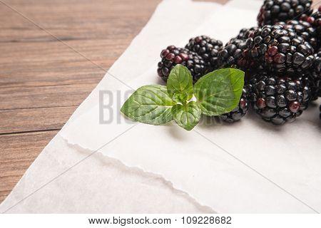 Fresh Organic Blackberry