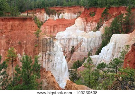 Providence Canyon State Park In South Greorgia