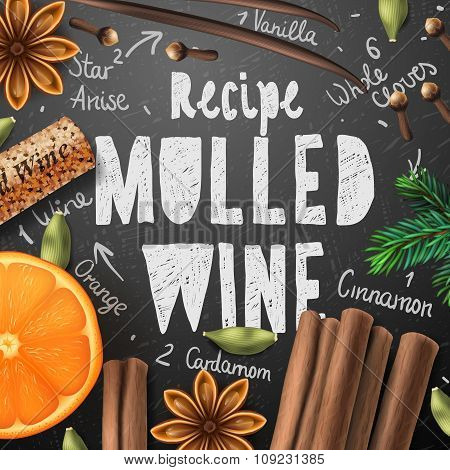 Christmas drink mulled wine