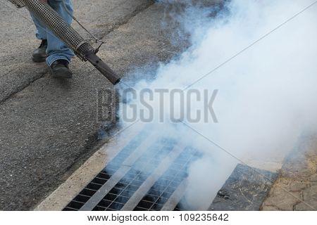 Fogging Mosquito