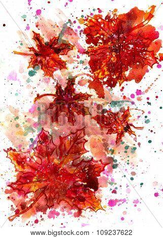 Maple Leaf Painting