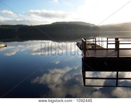 Dock At Dusk