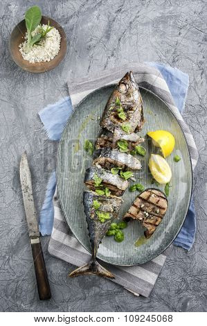 Sliced Barbecue Bonito