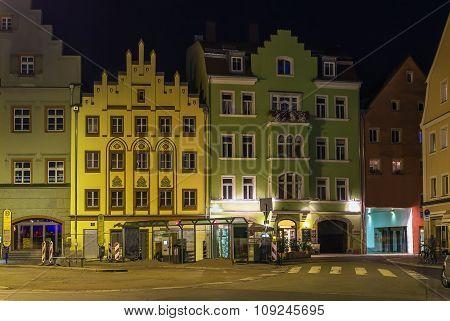 Square In Regensburg, Germany