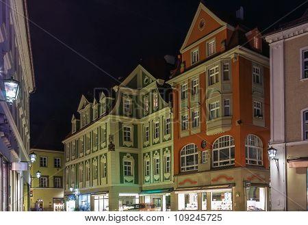 Street In Regensburg, Germany