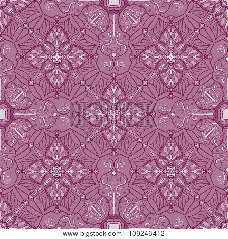 Vector Seamless Texture. Beautiful Colored Pattern For Design And Fashion