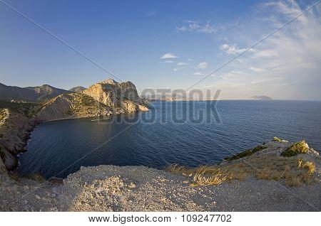 Little Bay On The Crimean Coast