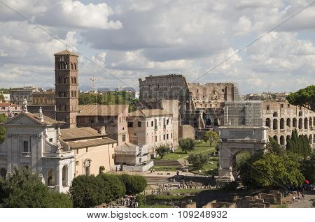 Best Sights Of Rome Coliseum Pantheon Forum