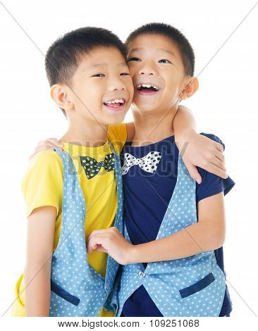 Asian twin brothers
