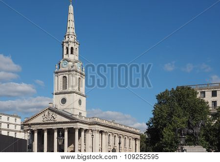 St Martin Church In London