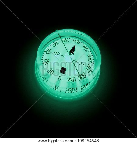 Glowing Compass