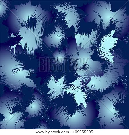Blue Winter Background. Stock Vector