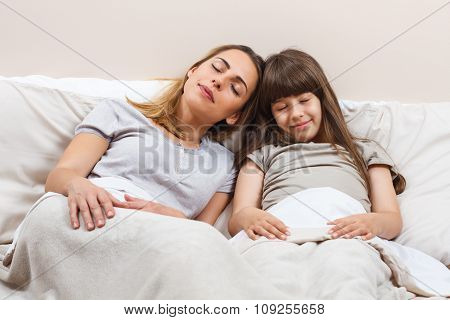 The sweetest dreams are with mother beside me