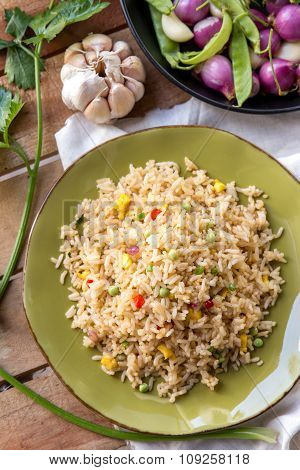 Delicious Spicy Fried Rice Ready To Eat