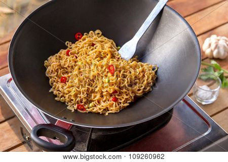 Delicious Spicy Fried Noodle