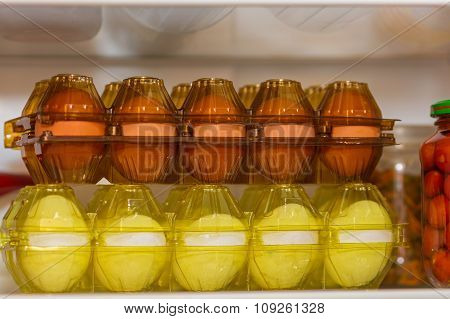 Two Packages Of Fresh Eggs