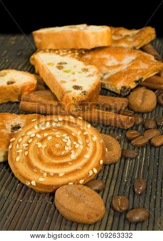 Image Of Various Tasty Cookie On A Table Closeup