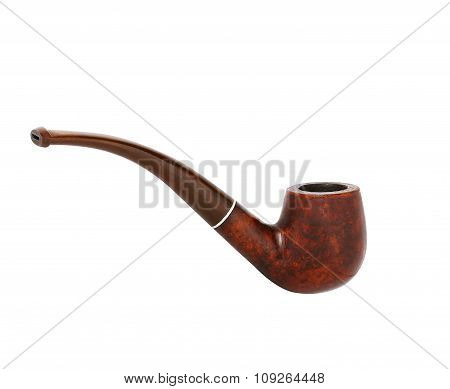 Smoking Pipe On White Background