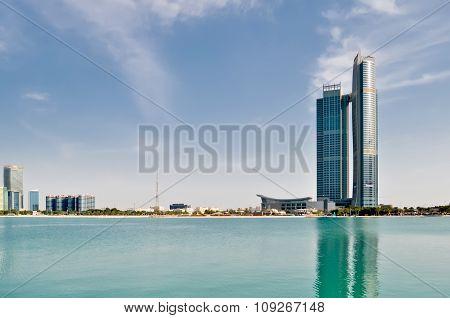 Abu Dhabi The Capital Of Uae