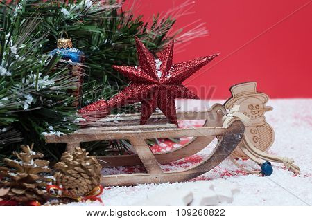 Decorations For The Christmas And New Year