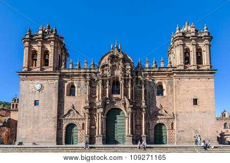 The Cathedral In Cusco, Peru