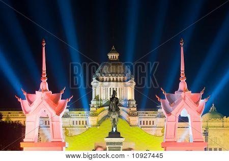 The Ananda Samakhom Throne Hall In Bangkok, Thailand