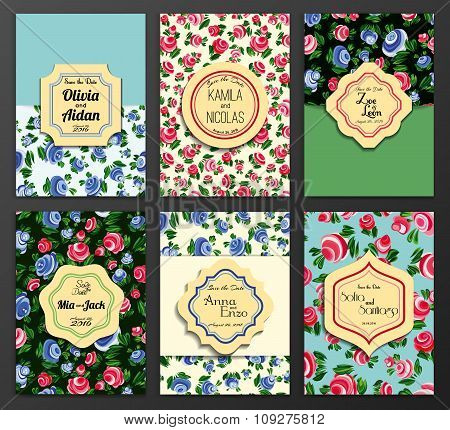Save the Date Ornate Frame. Easy to edit. Perfect for invitation