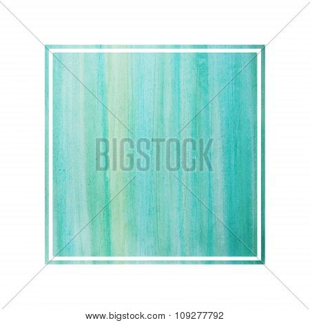 Abstract Watercolor Design Element. Text Frame.