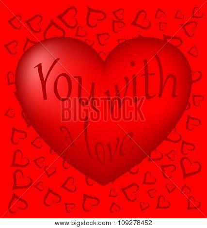 scarlet heart 3D