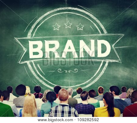 Brand Branding Copyright Trademark Marketing Concept