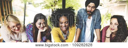 People Friendship Togetherness Connection Corporate Concept