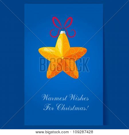 Christmas Tree Decorations. Bright Vector