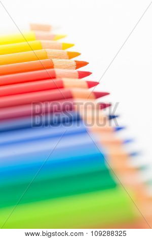 Different of colour pencil