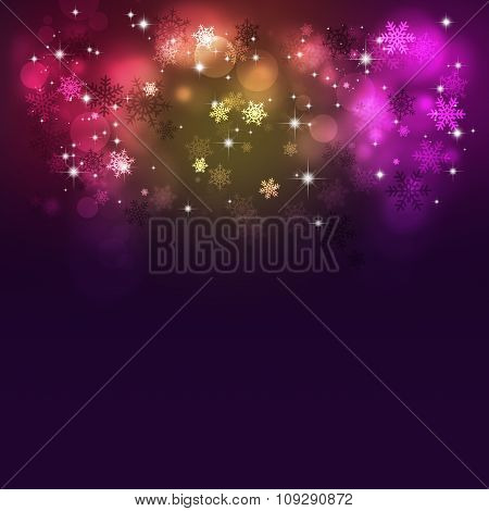 Abstract Multicolor Christmas Background